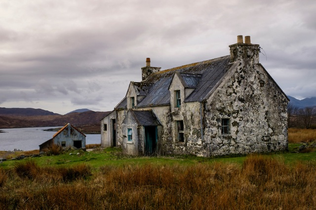 Abandoned House in Lewis and Harris